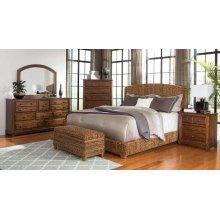 Laughton Rustic Brown Eastern King Bed