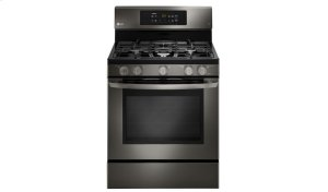 LG Black Stainless Steel Series 5.4 cu.ft. Capacity Gas Single Oven Range with EasyClean® Product Image