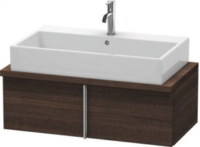 Vero Vanity Unit For Console Compact, Chestnut Dark (decor)