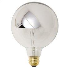 G50 25w E12 Light Bulb  Silver