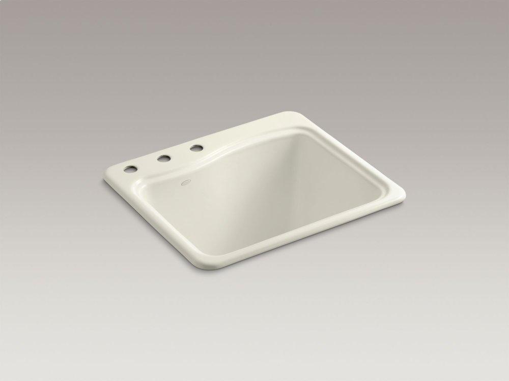 Kohler K6657395 | Studio41 | Ice Grey Top-mount Utility Sink With 3 ...