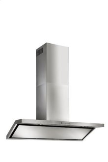 "Circeo - 35-7/16"" Stainless Steel Chimney Range Hood for use with a choice of Exterior or In-line blowers"