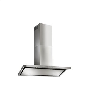 "BestCirceo - 35-7/16"" Stainless Steel Chimney Range Hood for use with a choice of Exterior or In-line blowers"