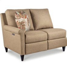 Abby Sectional Right-Arm Sitting Reclining Loveseat