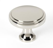 Royale Knob A980-38 - Polished Nickel