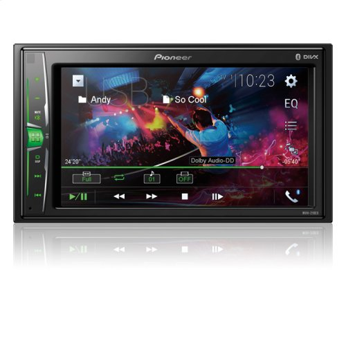 """Digital Multimedia Video Receiver with 6.2"""" WVGA Display, and Built-in Bluetooth ®"""