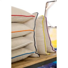 """Linen Piped LP-008 18"""" x 18"""" Pillow Shell Only"""