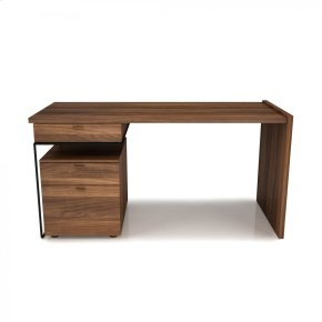 Desk with drawer cabinet