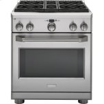 "GE MonogramMONOGRAMMonogram 30"" All Gas Professional Range with 4 Burners (Liquid Propane)"