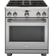 "Monogram 30"" Dual-Fuel Professional Range with 4 Burners (Natural Gas) Product Image"