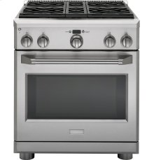 """GE Monogram® 30"""" All Gas Professional Range with 4 Burners (Natural Gas)"""