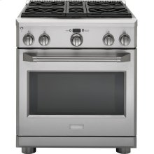 "Monogram 30"" Dual-Fuel Professional Range with 4 Burners (Natural Gas)"