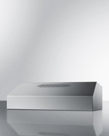 36 Inch Wide 390cfm Convertible Range Hood In Stainless Steel Finish