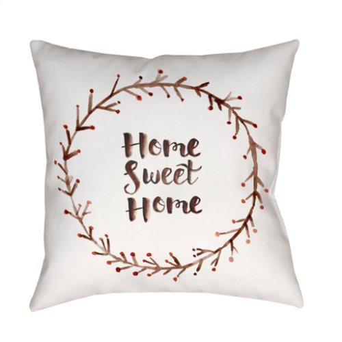 """Home Sweet Home II QTE-019 18"""" x 18"""""""