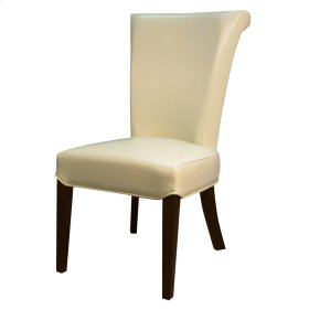 Bentley BONDED Leather Chair, Beige