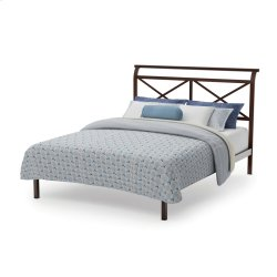 Gabriel Platform Footboard Bed - Queen