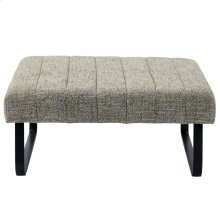 Sirus Cocktail Ottoman in Camel Blend