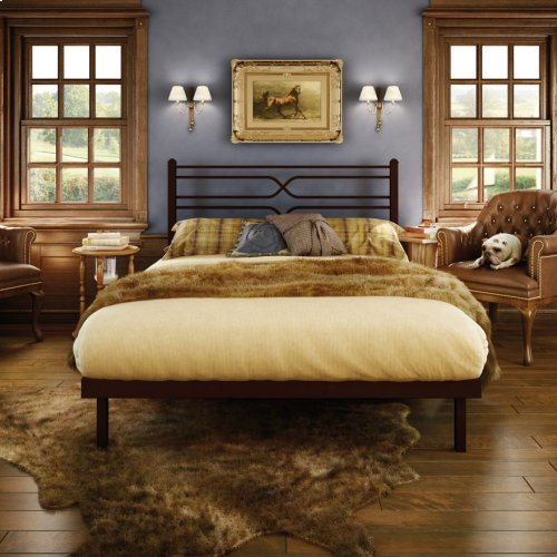 Timeless Platform Footboard Bed - Double