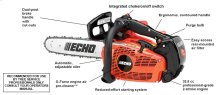 """ECHO's most powerful top-handle chain saw. 14"""", 16"""" bar lengths."""