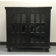 Two Door Sideboard- Weathered Black