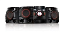 700W 2.1ch Mini Shelf System with Built-in Subwoofer and Bluetooth®
