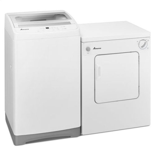 3.4 Cu. Ft. Compact Dryer with Sensor Dry - white
