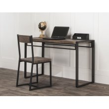 CR-P2089  Reclaimed Oak Desk with Chair