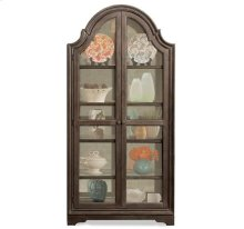 Verona Display Cabinet Dark Sienna finish