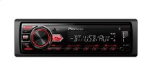 Digital Media Receiver with Built-in Bluetooth® and Front USB and AUX Input.