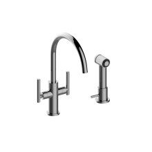 Sospiro Single-Hole Bar/Prep Faucet w/Independent Side Spray
