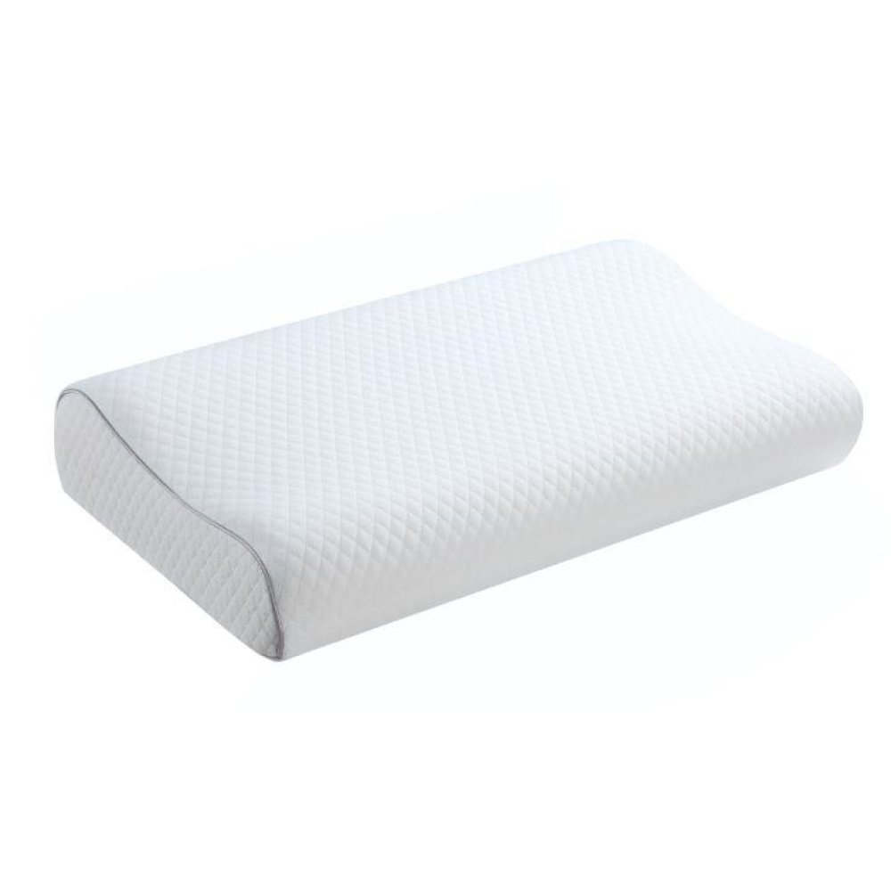 White Queen Contour Foam Pillow