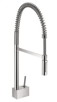Chrome Single lever kitchen mixer 240 Semi-Pro