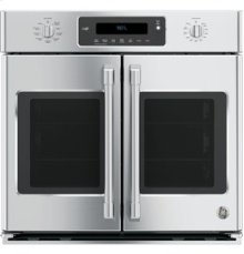 """30"""" Professional French-Door Electronic Convection Single Wall Oven"""