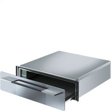 """Food and Dish Warming Drawer for Compact Ovens, 24"""" (60cm). Supersilver Silverglass"""