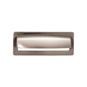 Hollin Cup Pull 3 3/4 Inch - Brushed Satin Nickel