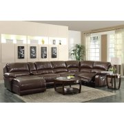 Mackenzie Casual Chestnut Motion Sectional Product Image