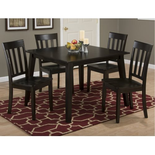 Simplicity Espresso Square Dining Table