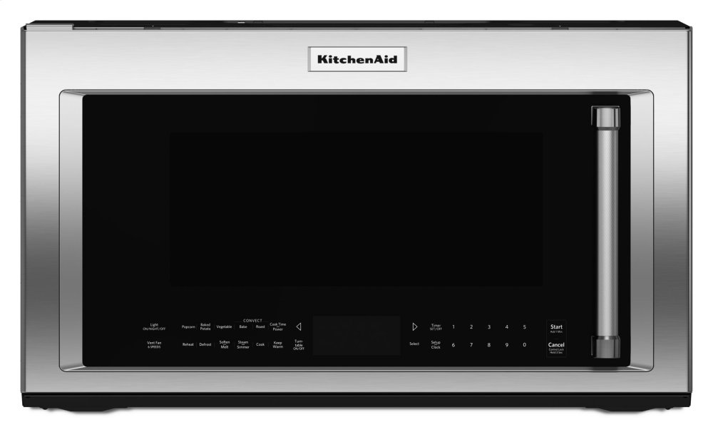 1000 Watt Convection Microwave Hood Combination   Stainless Steel