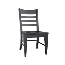 Choices Slat Back Side Chair/Ebony