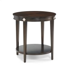 225-930 Diamond Round Lamp Table