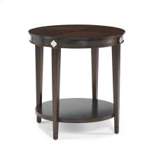 225-930 Diamond Round Lamp Table