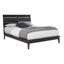 Camber Upholstered Bed with Euro Footboard