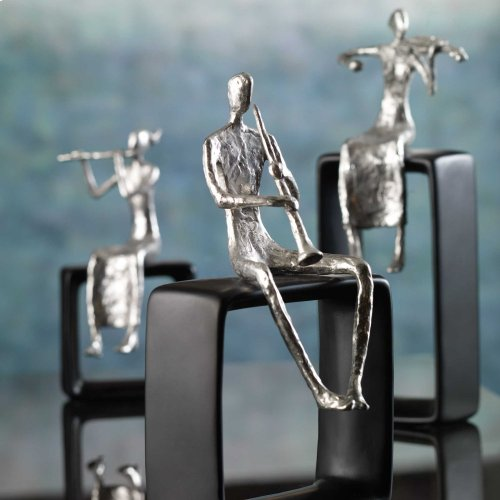 Musical Ensemble Figurines, S/3