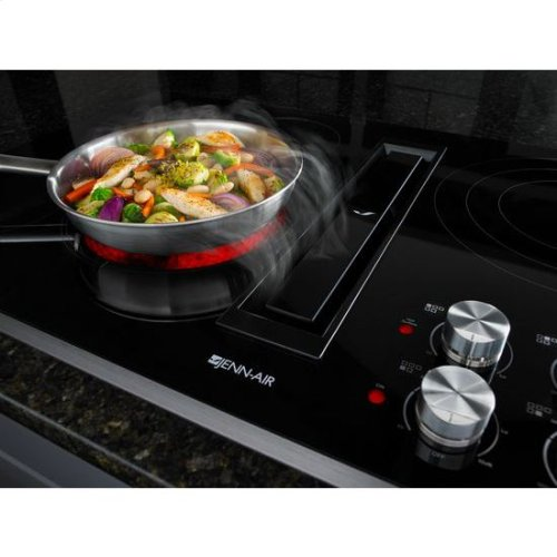 "Jenn-Air® Euro-Style 36"" JX3™ Electric Downdraft Cooktop - Stainless Steel"