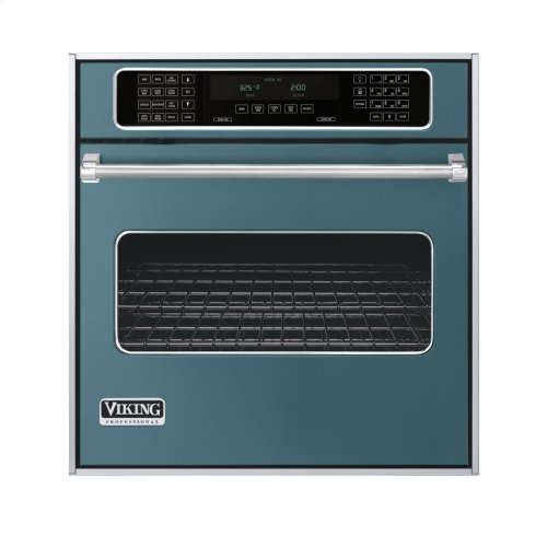 """Iridescent Blue 27"""" Single Electric Touch Control Premiere Oven - VESO (27"""" Wide Single Electric Touch Control Premiere Oven)"""