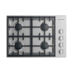 "Fisher & PaykelGas Cooktop 30"", 4 burner"