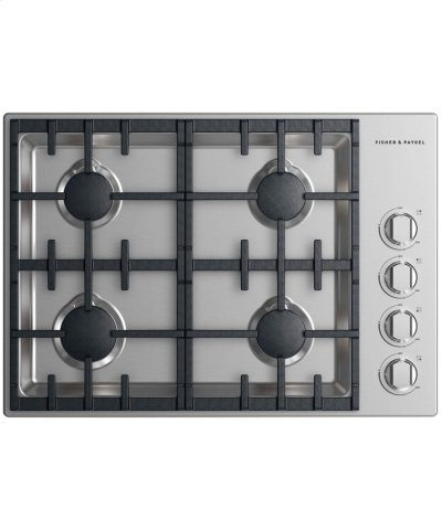 """Gas Cooktop 30"""", 4 burner Product Image"""