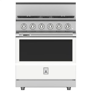 "Hestan30"" 4-Burner Dual Fuel Range - KRD Series - Froth"