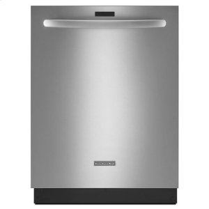 KitchenAidKitchenAid® 24'' 5-Cycle/6-Option Dishwasher, Architect® Series II - Stainless Steel
