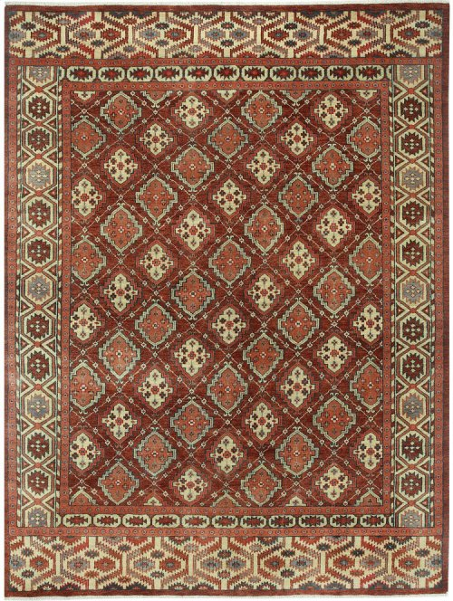 Legacy-Gabbeh Red Multi Hand Knotted Rugs
